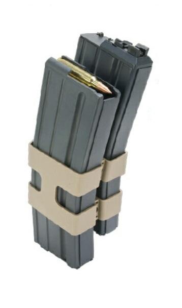 WE ダブルマガジン M4 80連 オープンボルト対応 Black SCAR/PDW/M4/M16 MG-M4DBG-14000-WOE
