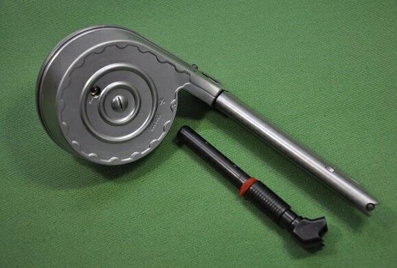 WE スネイルマガジン WE P08 GBB対応 Silver MG-P08SNSV-11000
