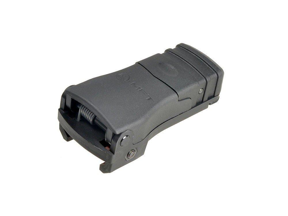 Mission First Tactical MFT フロントサイト Backup Polymer Flip Up Sight Adjustable Elevation Black 8000