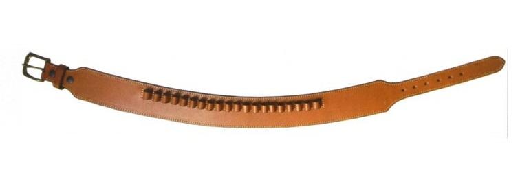 イースト・A ウエスタンガンベルト 牛革製 ループホルスター用 Mサイズ Brown(茶) No.060-M-20000