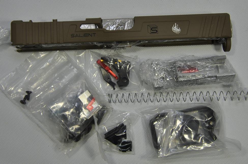 供Guns Modify特别定做放映装置东京丸井Glock17/18C使用的SAI G17 Tier2 RMR Costa型FDE 56300-WOE