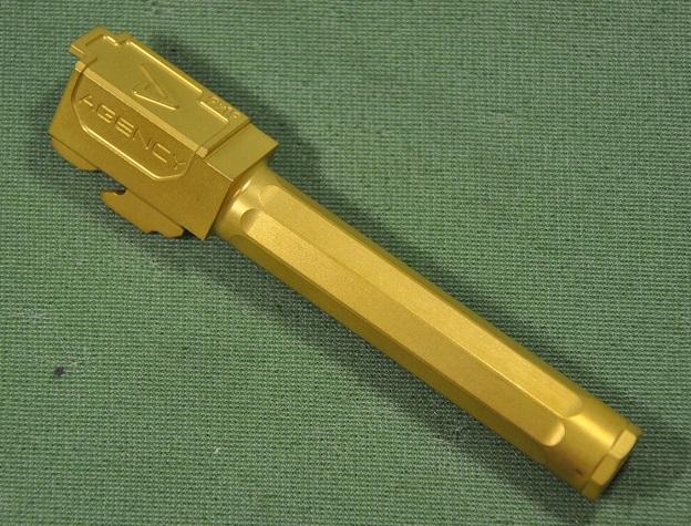 RWA Agency Arms outer barrel Titanium Nitride Tokyo Marui Glock17 for  RWAEXT-OB-2-0002-13000