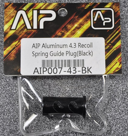 秋葉原にあるエアガン モデルガン の専門店 AIP リコイルプラグ Black 東京マルイ Hicapa4.3 軽量 並行輸入品 AIP007-43-BK 上品