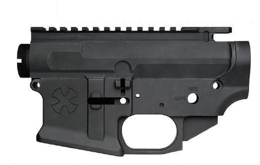ANGRY GUN アッパー&ロアーレシーバー WE M4シリーズ用 オープンチャンバーシステム用 NOVESKE N4 Gen.3タイプ Black ANGRY-77500-WOE