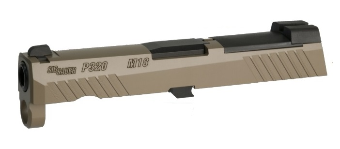 BOMBER AIRSOFT BAC カスタムスライドセット Elite Coyote VFC UMAREX P320 M18 SIG GBB用
