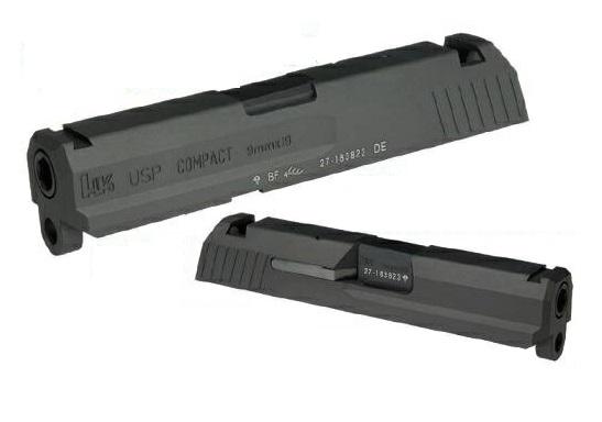 DETONATOR カスタムスライド 東京マルイ製USP CompactGBB用 CNC Aluminume SL-USP01BK-33800-WOEE