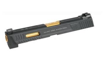 DETONATOR カスタム スライド WE M&P STD用 Salient Arms Tier1 4.25inch セット Black SL-WE04BK-33600-WOE