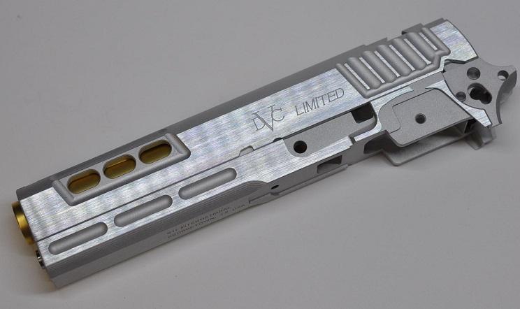 Airsoft Masterpiece スライドセット Silver STI DVC LIMITED 東京マルイHi-Capシリーズ用 STILS-51SV-76500
