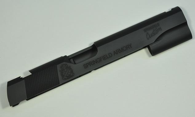 KSK SFA FBI BEREAU カスタムスライド セラコート Black アルミ製 東京マルイ MEU用 14800