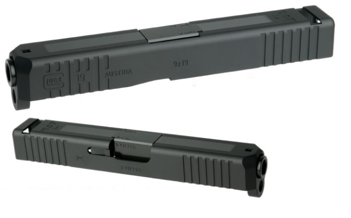 DETONATOR Wilson Combat Glock19 スライドセット BK 東京マルイG19用 SL-G1904BK