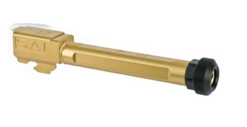 DETONATOR アウターバレル 14mm逆ネジ SAI ボックスフルート サイレンサー対応 東京マルイ Glock17シリーズ用 OB-TM35AGD