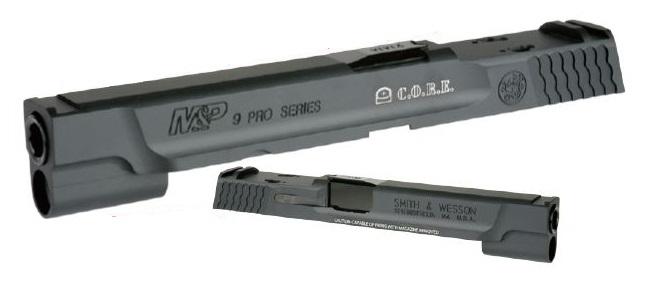 DETONATOR カスタムスライド C.O.R.E. 東京マルイ M&P9用 M&P9L 5inch カスタム Black SL-MP909BK