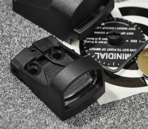 SHIELD ドットサイト Reflex Mini Sight 1MOA レッド SMS-A2001-MOA1-R0-49800