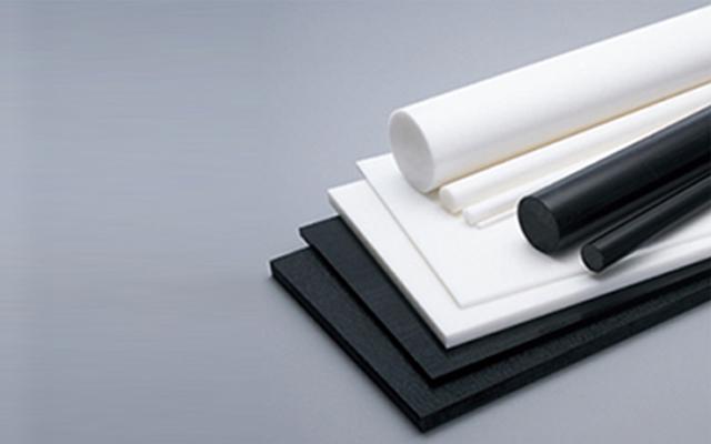 POM樹脂 板 ( ジュラコン® 板 ) ナチュラル(白) 板厚 10mm X500X1000