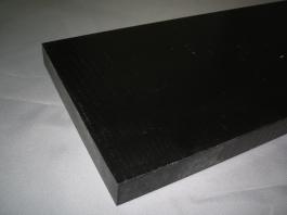 6N板 ( 6ナイロン板 )GF30% 黒色 15mmX500X1000