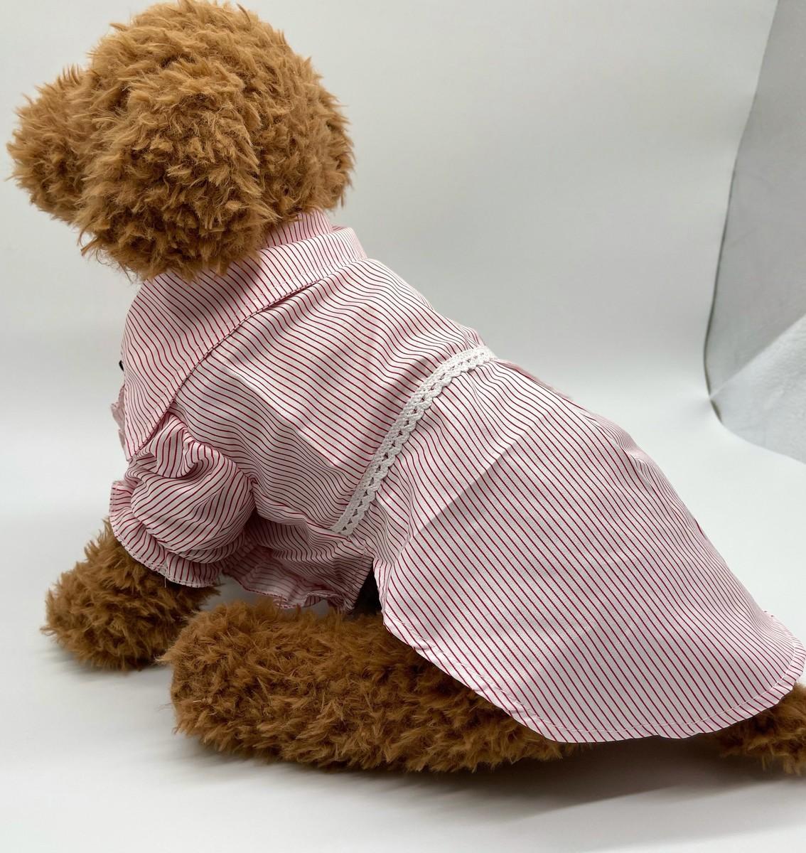 SALENEW大人気! 送料無料 犬用 ペット服 おしゃれ服 ドレス 犬服 ドッグウェア かわいい フォーマルドレス 期間限定お試し価格