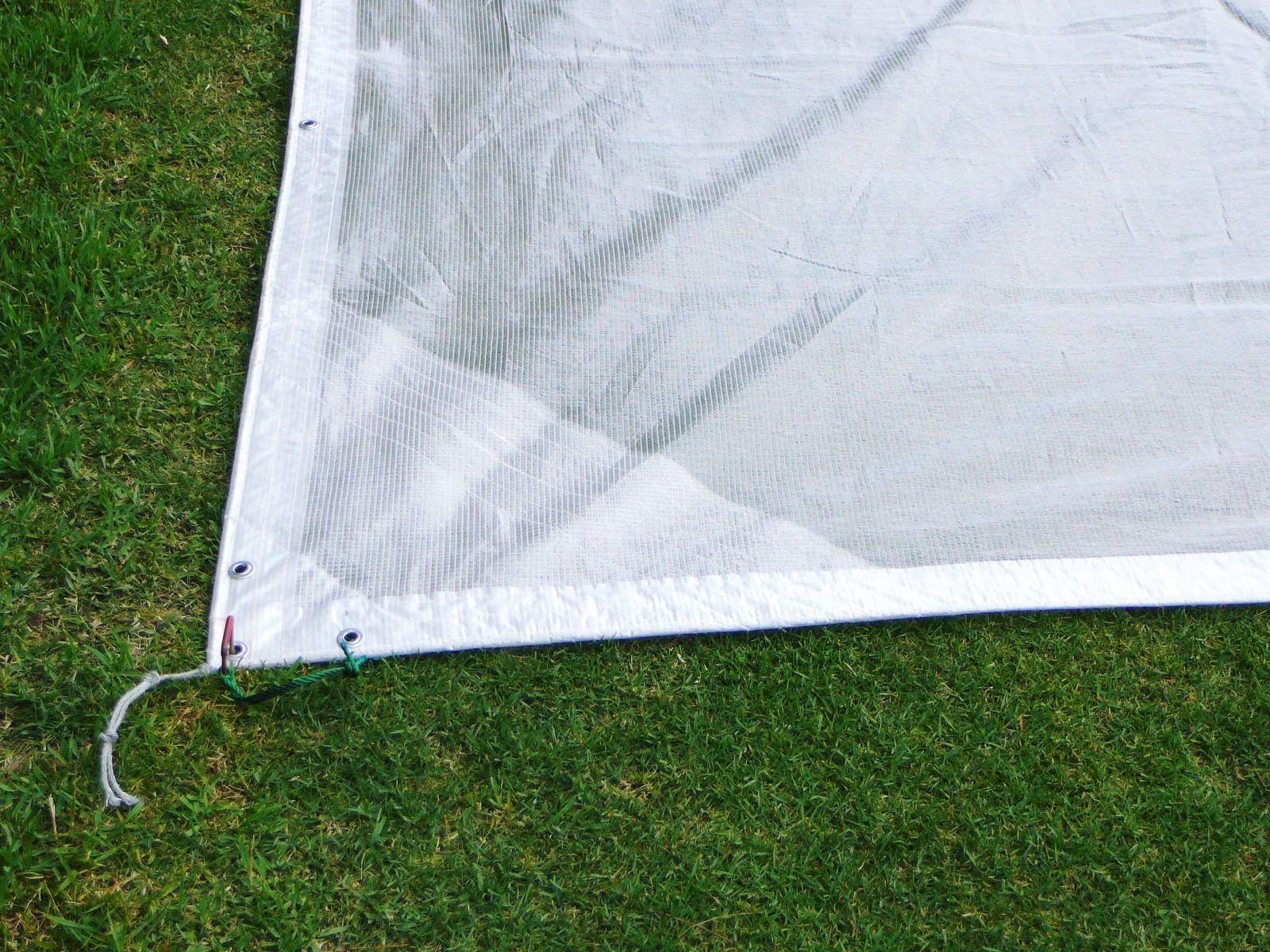 ターフカバーC(透明) 10m×20m