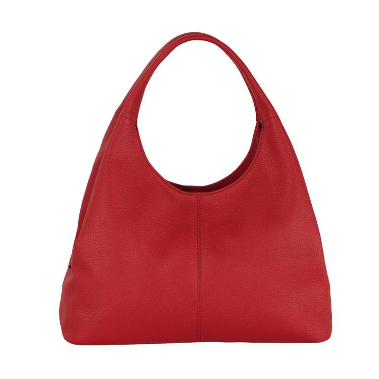 Jamale ブランド 日本製 ハンドバッグ レディース 本革 レッド 赤ちょっとお出かけにちょうどいいサイズ 日本製の牛革ハンドバッグ (No.07000016)リアルレザー 送料無料 ギフト