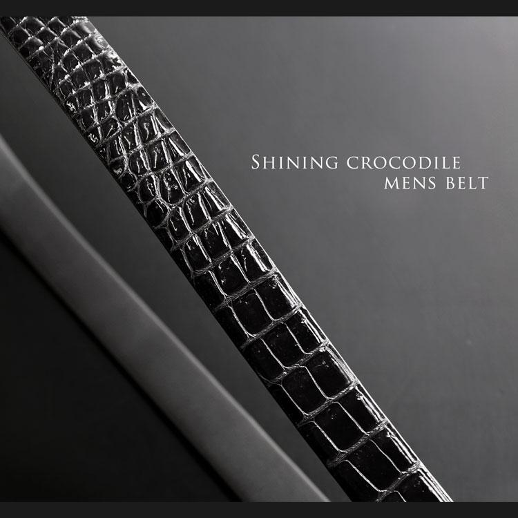 d0ac77ae39cf 楽天市場】日本製 シャイニング クロコダイル メンズ ベルト バックル ...