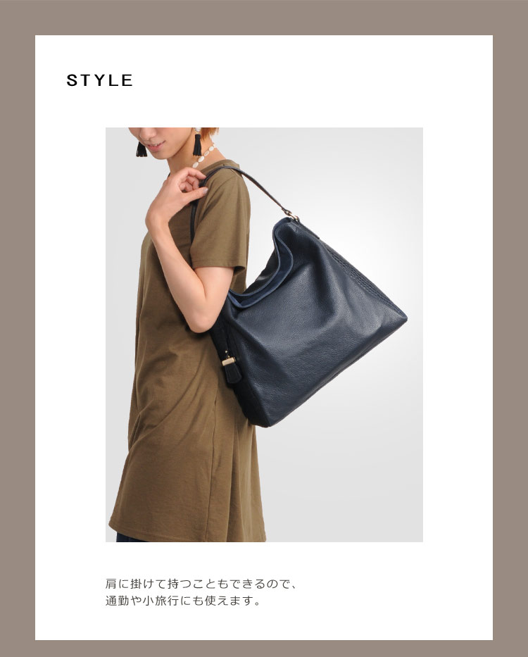 Ripani made in Italy leather shoulder bag which