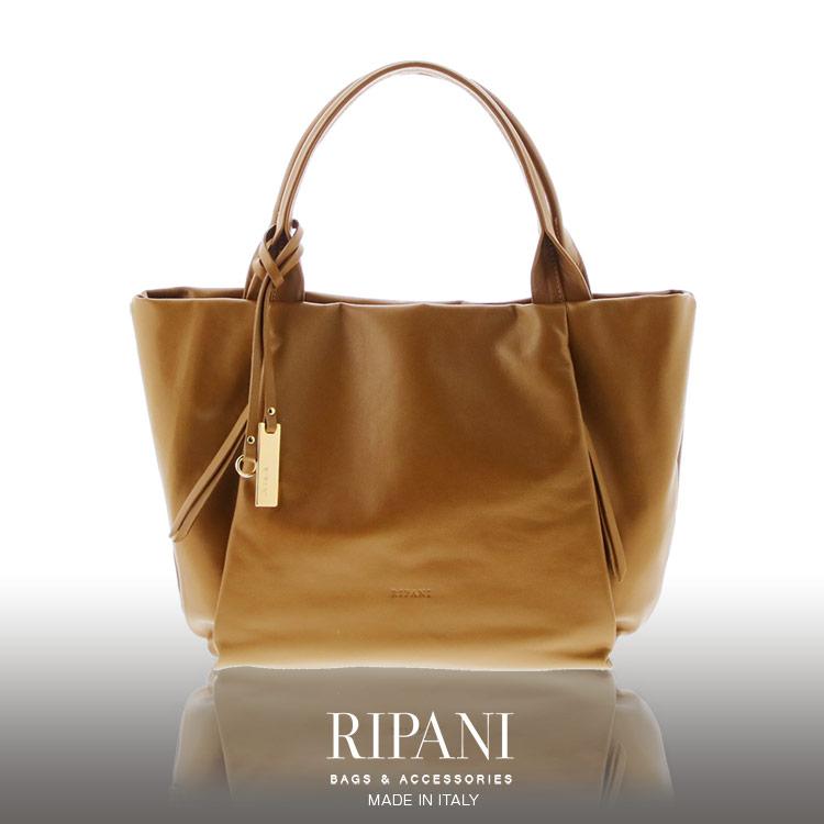 RIPANI/リパーニ イタリア製 牛革 トートバッグ A4 対応 ソフト レザー レディース 大きいサイズ 全5色 ギフト 送料無料
