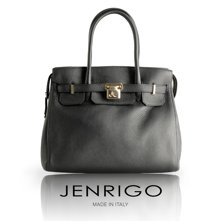 【期間限定価格】JENRIGO ジェンリゴ 牛革 トート バッグ ゴールド金具 イタリア製 レディース 全4色 母 女性 プレゼント ギフト