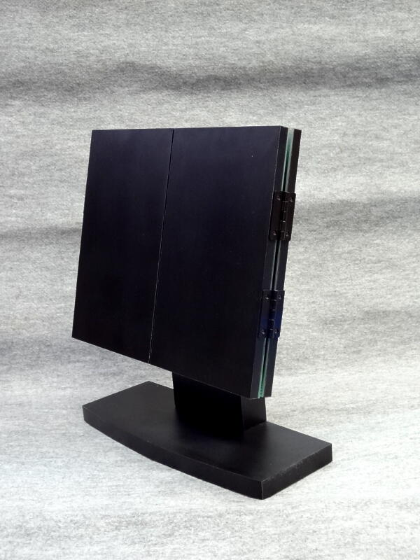 卓上ミラー卓上三面鏡トラッド 黒【全国送料無料】【日本製】【税込】【お祝い】