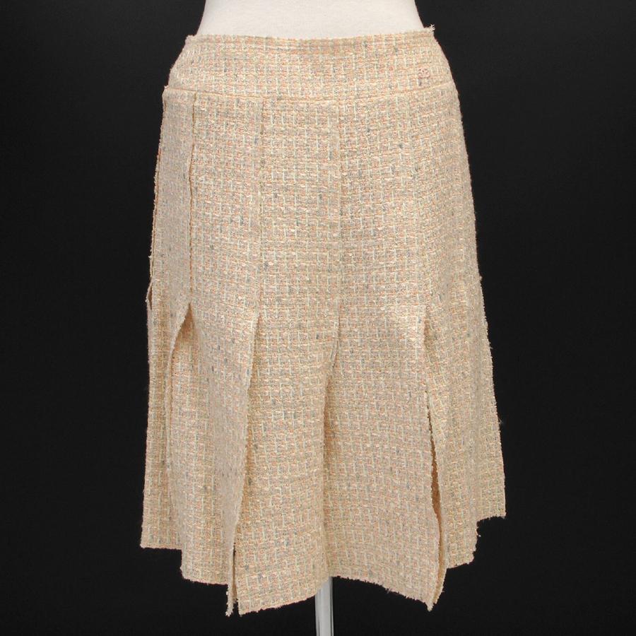 【最大3万円OFFクーポン配布中】【送料無料】【中古】シャネル 05Sスカート【Aランク】