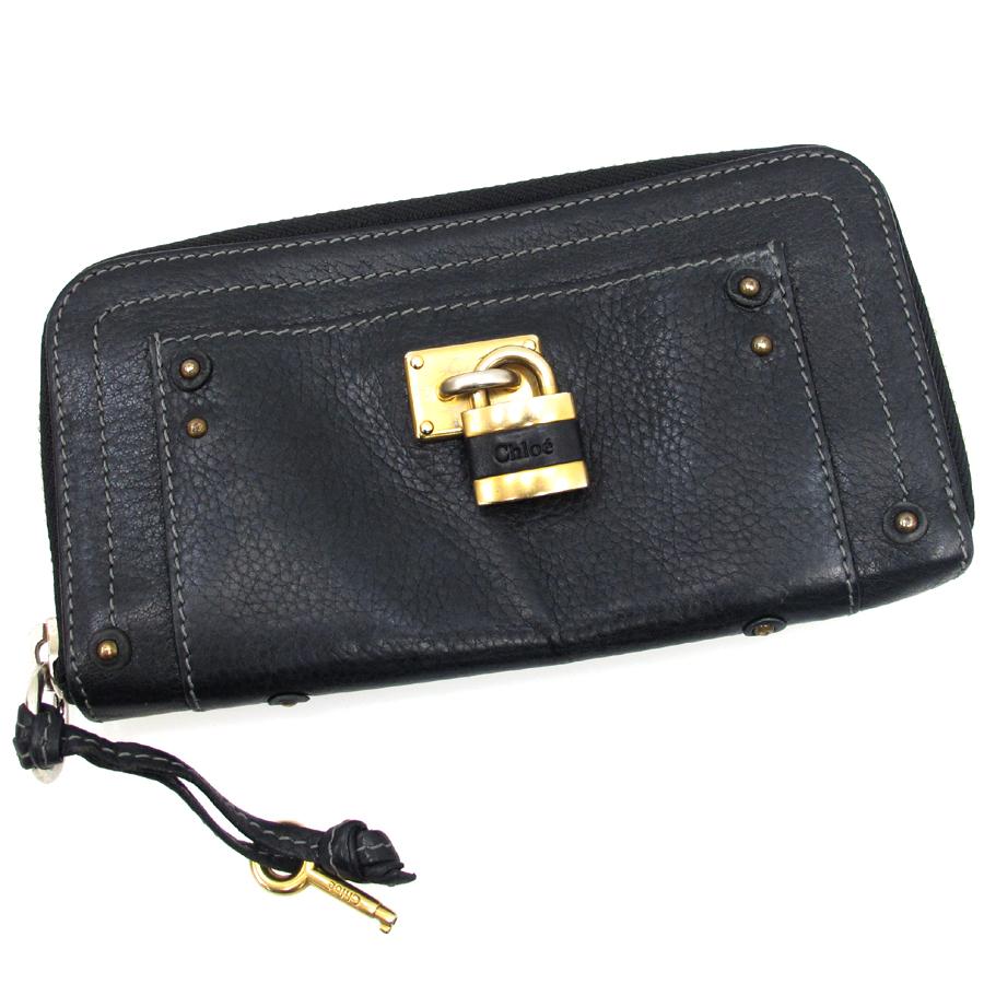 【送料無料】【中古】クロエ パディントン財布【Bランク】