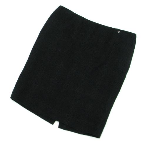 【最大3万円OFFクーポン配布中】【送料無料】【中古】シャネル 08Pスカート【Aランク】