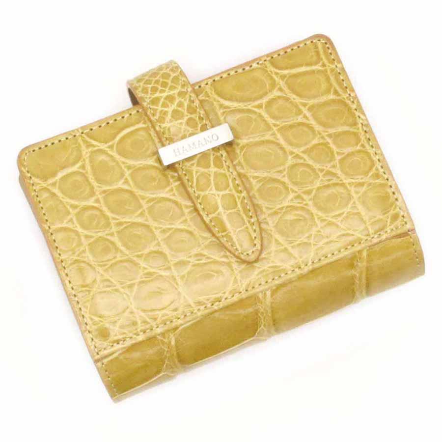 【送料無料】【中古】高級皮革系 ワニ革・財布【Bランク】