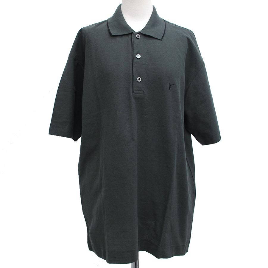 【送料無料】【中古】フェラガモ メンズポロシャツ【Aランク】
