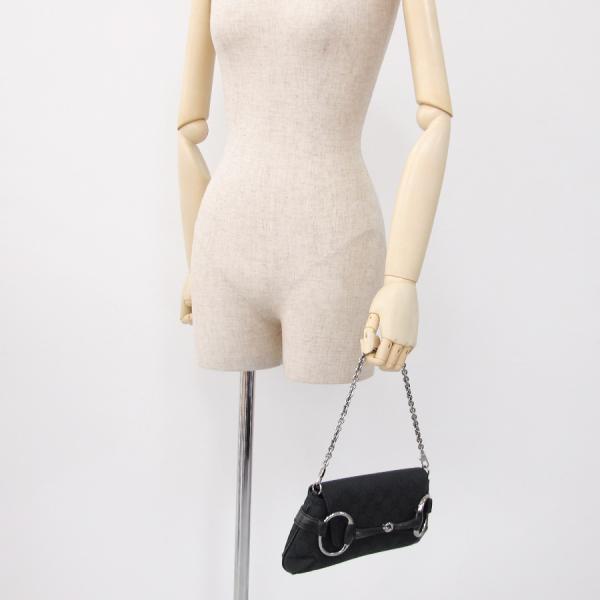Gucci GG canvas party bag 114923