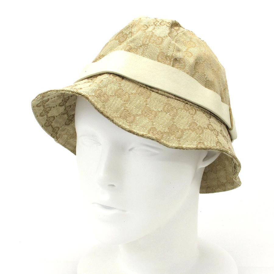 【送料無料】【中古】グッチ 帽子【Aランク】