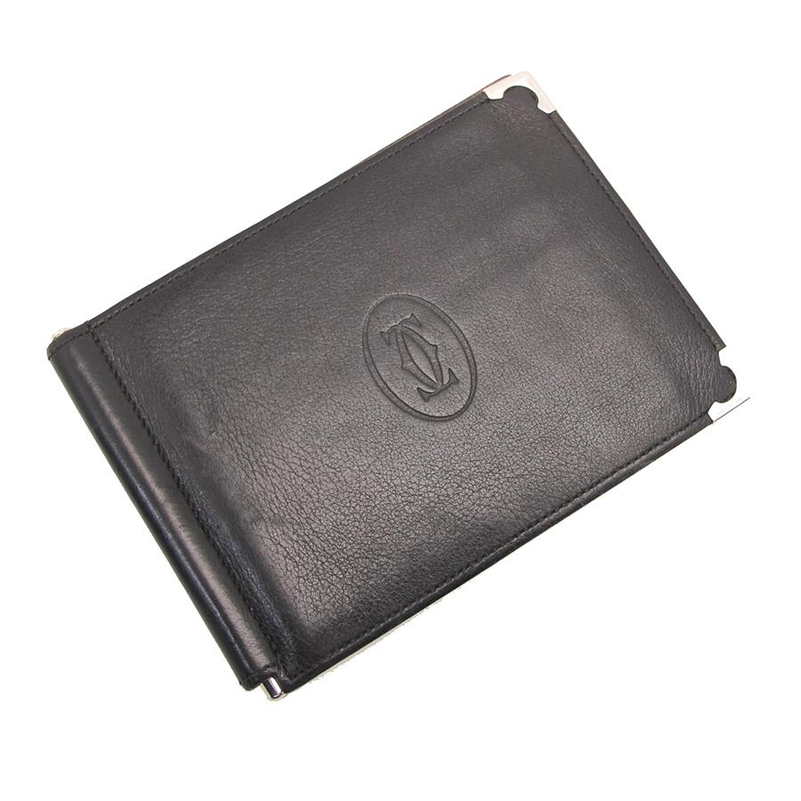 【送料無料】【中古】カルティエ 二つ折財布【Bランク】