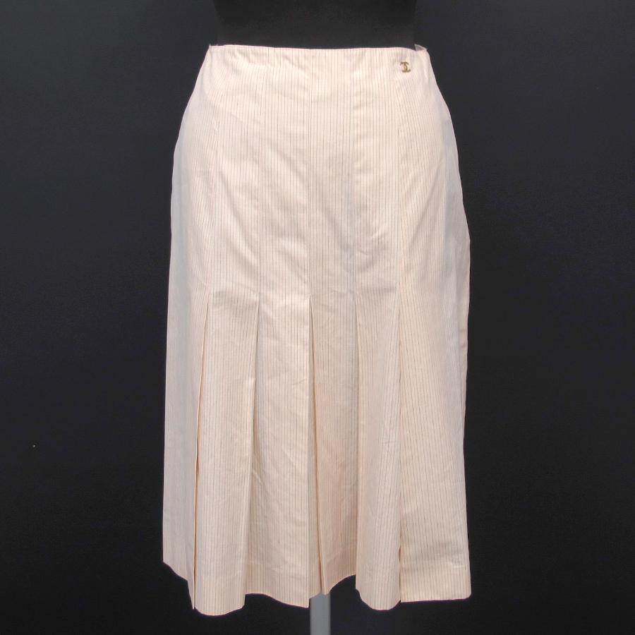 【送料無料】【中古】シャネル 01Cスカート【Bランク】