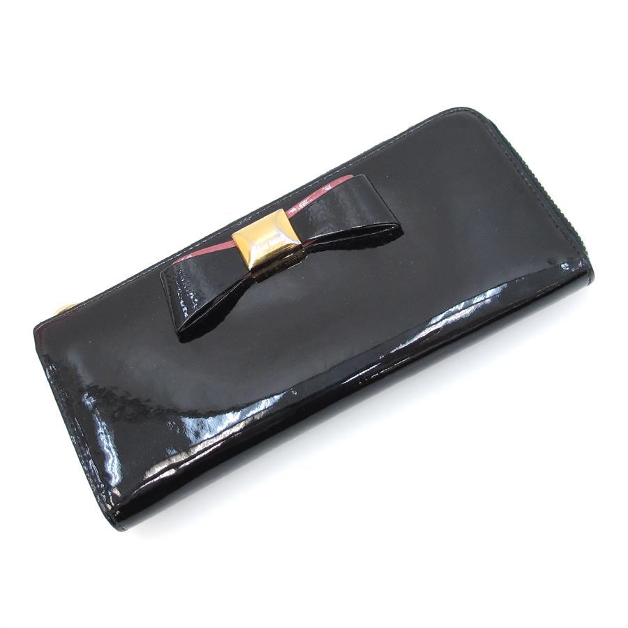 【送料無料】【中古】ミュウミュウ 長財布【Bランク】