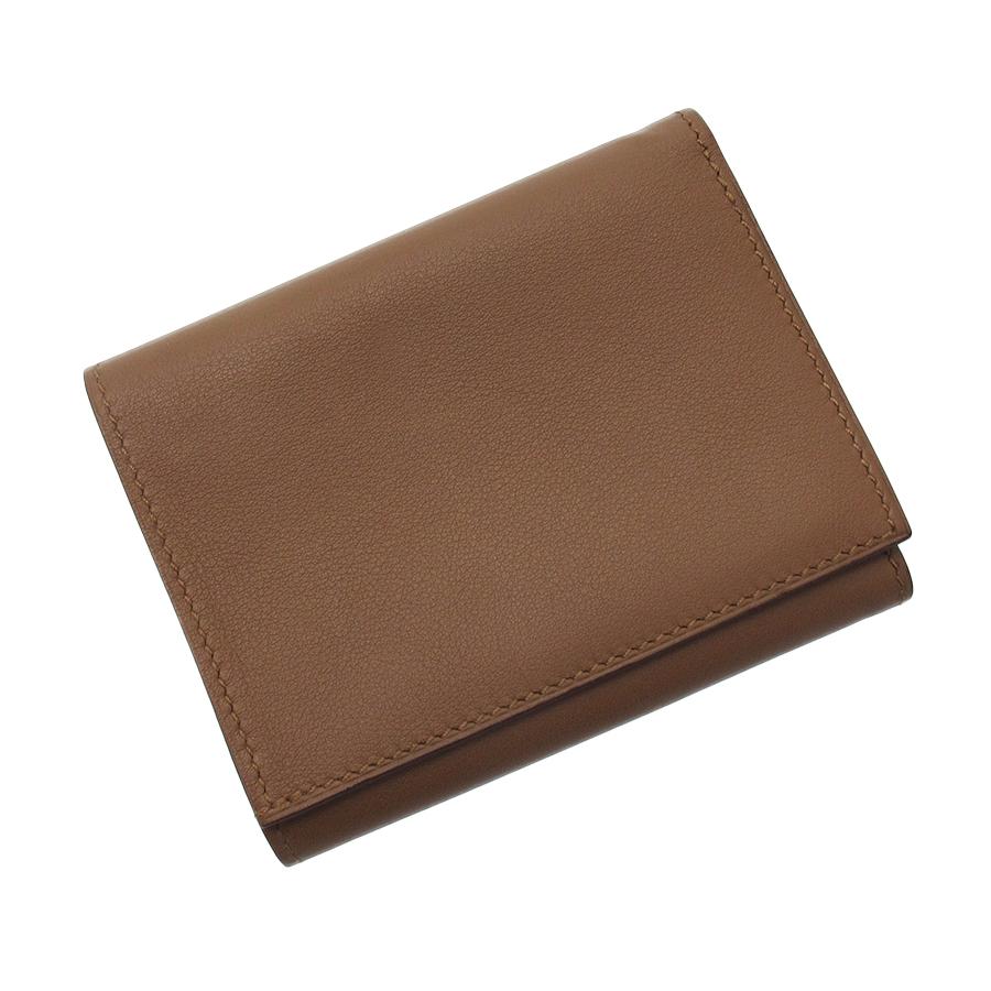 【送料無料】【中古】エルメス シチズンツイル・3つ折財布【Aランク】