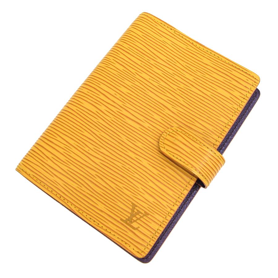 【送料無料】【中古】ルイヴィトン エピ システム手帳PM R20059【Bランク】