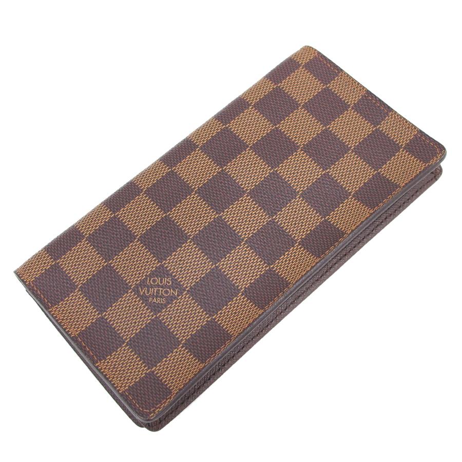 【送料無料】【中古】ルイヴィトン ダミエ カード用ポケット付札入 N60825【Bランク】
