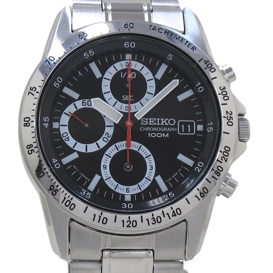 the latest d9a4a c5a4a SEIKO quartz chronograph 7T92-0DW0