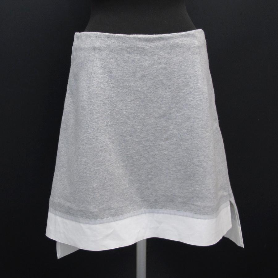 【送料無料】【中古】マルニ スウェットスカート 【Bランク】