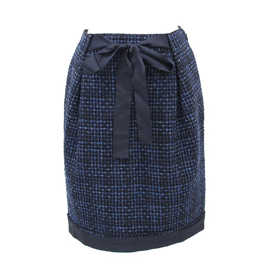 【中古】ルイヴィトン ツイードスカート【Aランク】