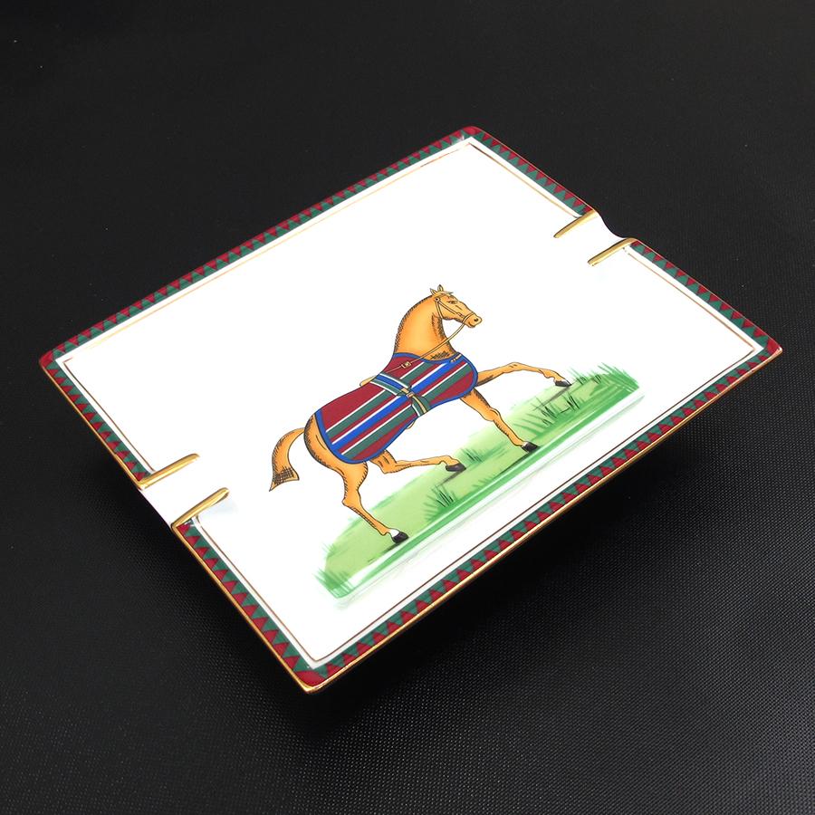 【最大3万円OFFクーポン配布中】【送料無料】【中古】エルメス 灰皿【Bランク】