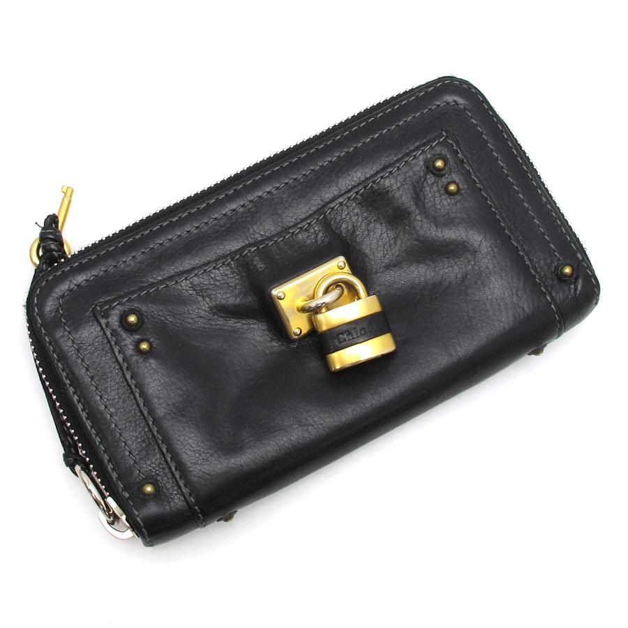 【送料無料】【中古】クロエ 長財布 【Bランク】