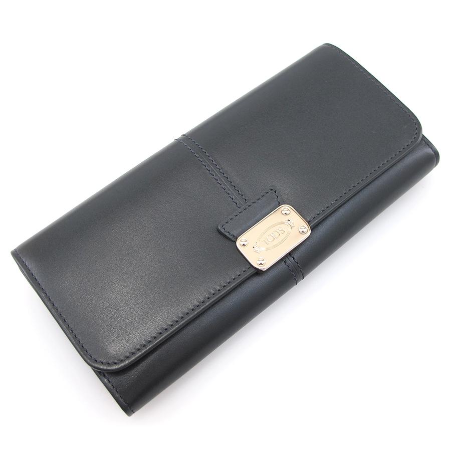 【送料無料】【中古】TOD'S 長財布 【Sランク】