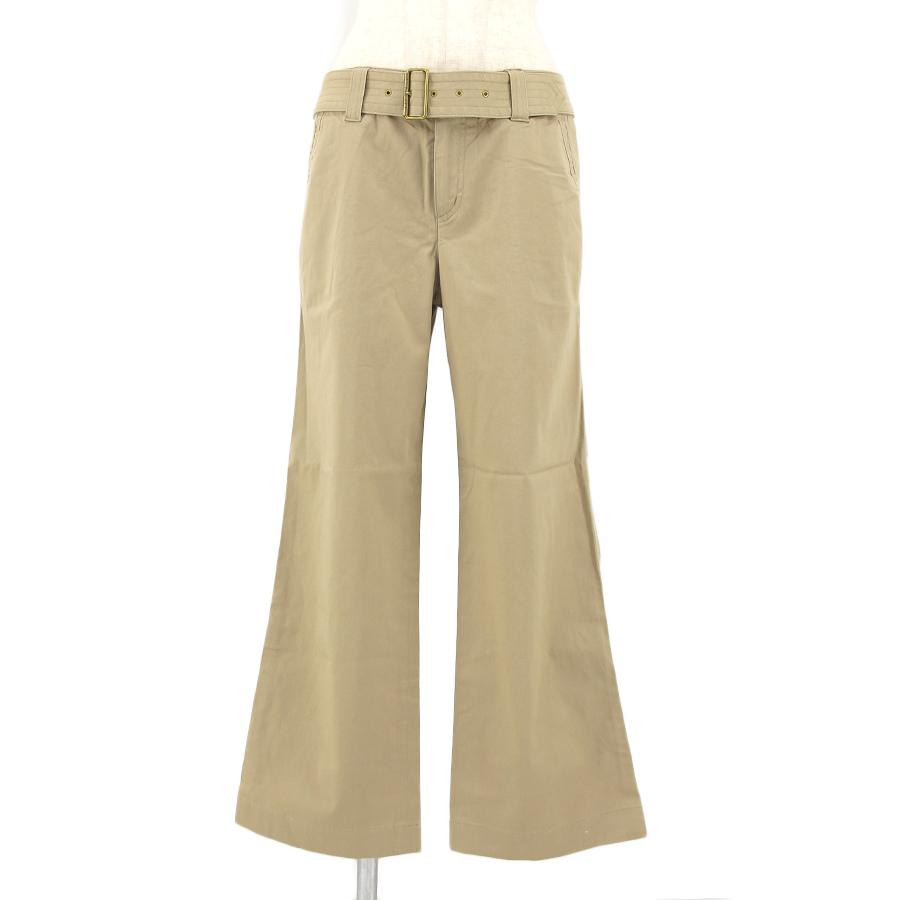 【送料無料】【中古】バーバリー ベルト付パンツ FQB72-220-50【Aランク】