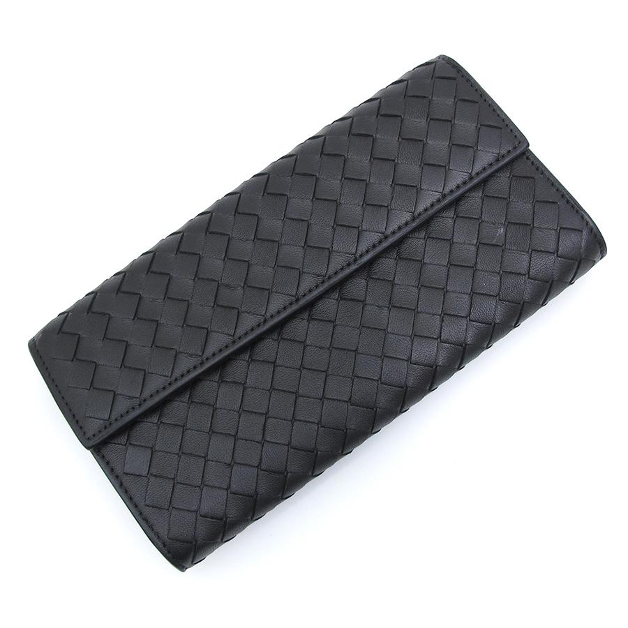 【送料無料】【中古】ボッテガヴェネタ 長財布 150509【Aランク】