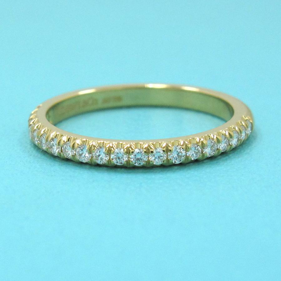 The Tiffany half circle ring / it strike band ♯ 7 5 neighborhood
