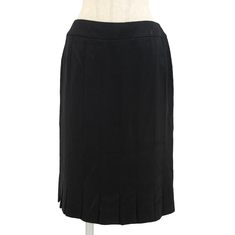 【送料無料】【中古】シャネル 05Pスカート 【Bランク】